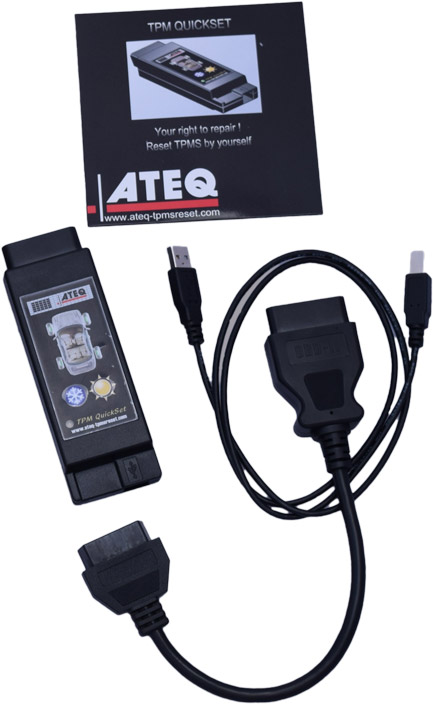 Ateq Quickset Tpms Reset Tool Works With Most Asian Import