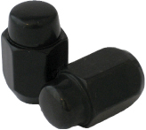 Coyote Accessories black finish lug nuts
