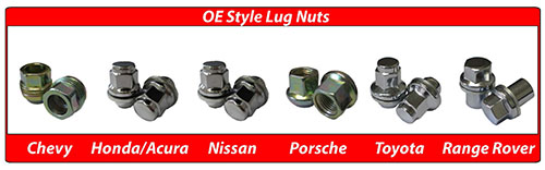 Coyote Accessroies OE Style Lug Nuts
