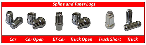 Coyote Accessories Spline and Tuner lugs