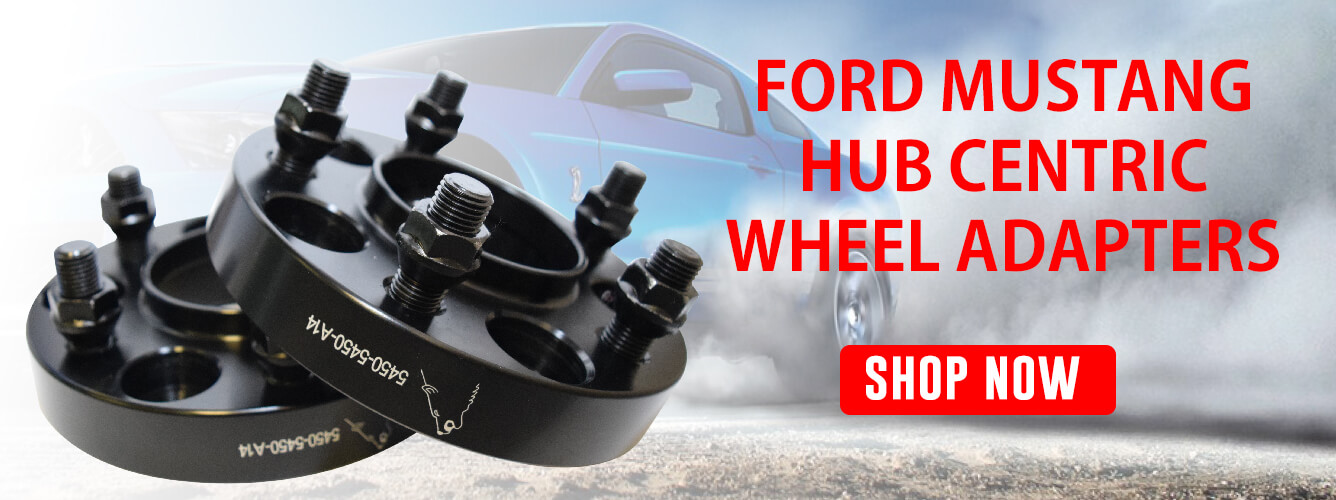 Ford Mustang wheel adapters