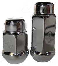 Coyote Accessories Lug Nut Chrome